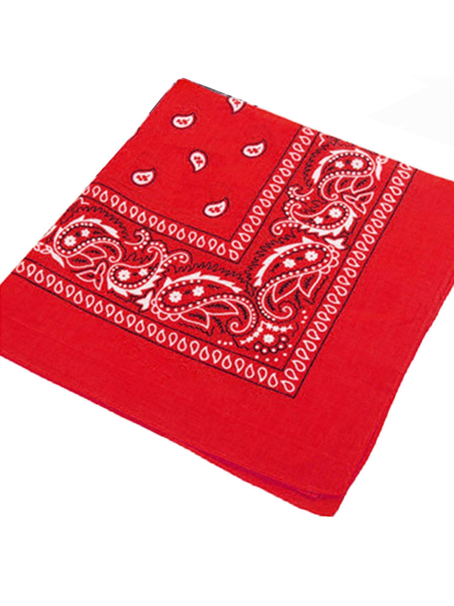 New PAISLEY BANDANA Head Band Wear Bands Scarf Neck Wrist Wrap polyester Cotton