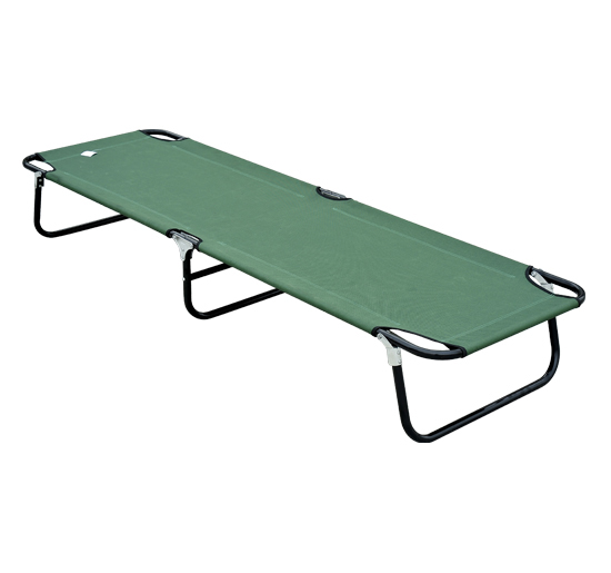 Outsunny Deluxe Folding Military Style Camping Cot by Aosom