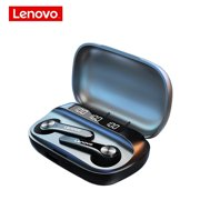 Lenovo QT81 Wireless Earbuds Bluetooth 5.0 Headphones with Mic, IPX8 Waterproof Stereo Earphones for Running, Gym, Exercise