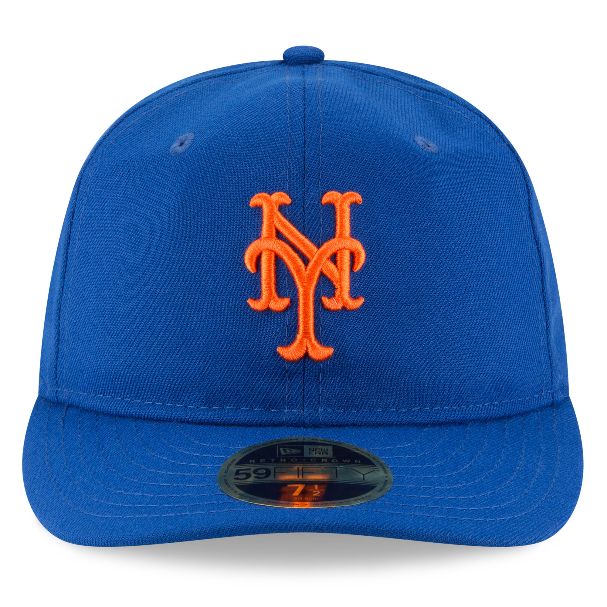 New York Mets New Era Fan Retro Low Profile 59FIFTY Fitted Hat - Royal -  Walmart.com a9f844775055