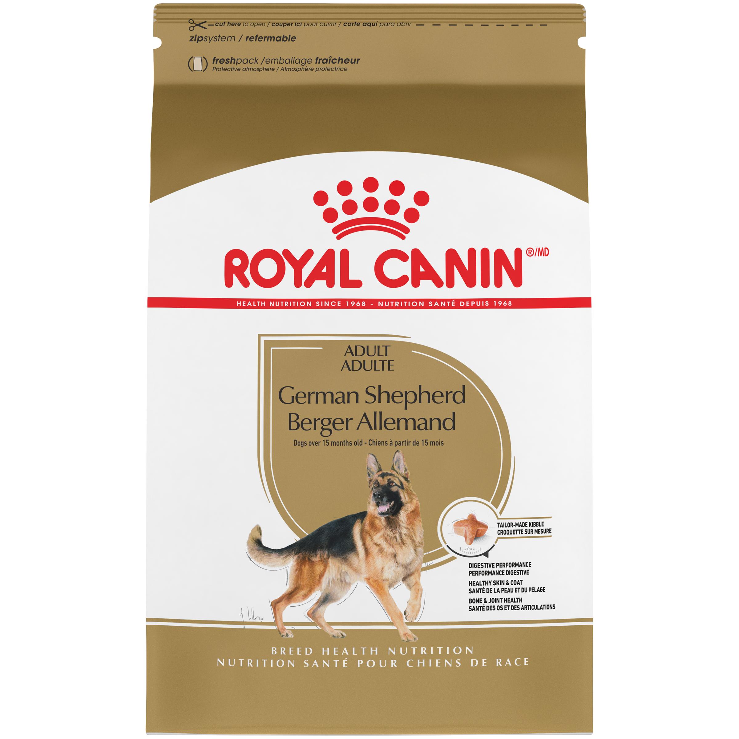 Royal Canin German Shepherd Adult Dry Dog Food, 30 lb