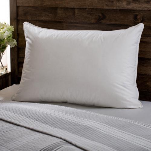 European Heritage  Down Opulence Hypoallergenic Medium Firmness White Goose Down Pillow
