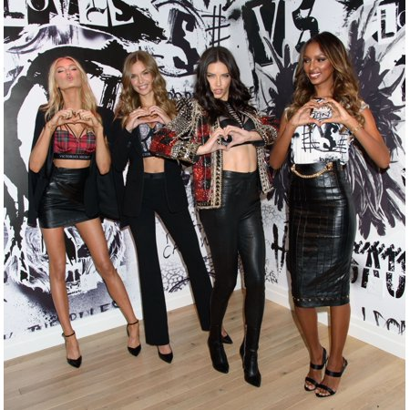 Romee Strijd Josephine Skriver Adriana Lima Jasmine Tookes At In-Store Appearance For VictoriaS Secret Angels Share Their Favorite Vs X Balmain Looks From The Runway And Hottest Holiday Gifts (Hottest Online Stores)