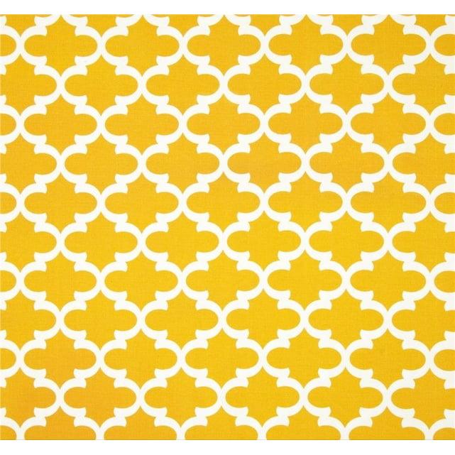 Jordan Manufacturing Outdoor Fabric By The Yard, Fulton Citrus Yellow