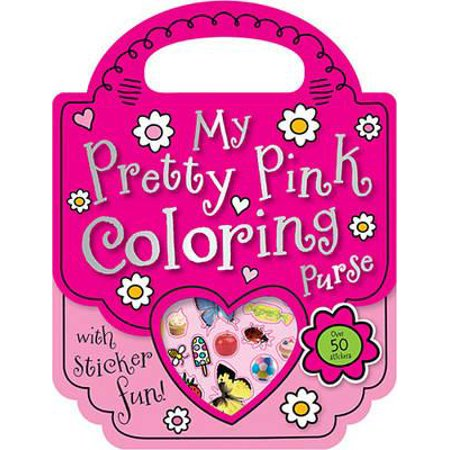 My Pretty Pink Coloring Purse - Kid Friendly Halloween Coloring Pages