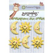 BaZooples Buttons-The Sun & Moon