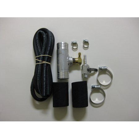 RDS Tanks 011025 Fuel Tank Gravity Feed Kit  Fits 1-1/2 Inch Fill Neck Hoses; With Valve/ Hoses/ Hose Clamps/ Fittings; For Diesel Only - image 1 of 1