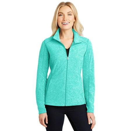 Port Authority Women's Heather Microfleece Full-Zip Jacket Big Game Microfleece Jacket