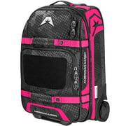 American Kargo Carry-On Roller Gear Bag Pink
