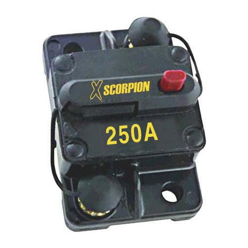 CB250 250 Amp Circuit Breaker with Manual Reset XSCORPION