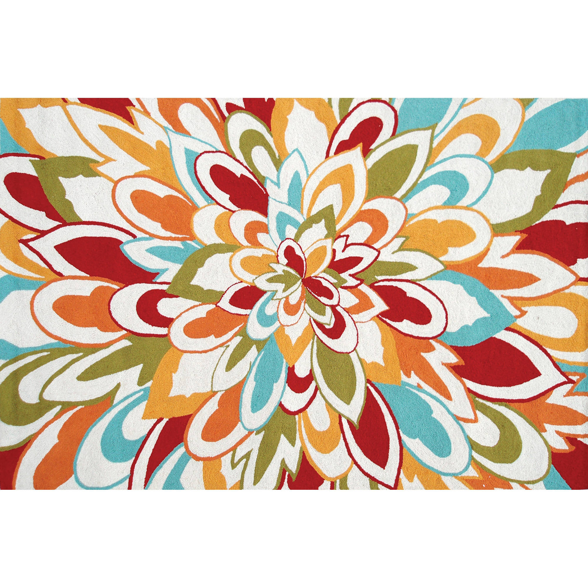 "The Rug Market Bloom 8"" x 10"" Area Rug"