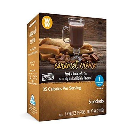Weight Watchers Hot Chocolate  Caramel Creme