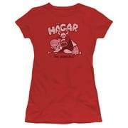 Hagar The Horrible Hagar Gulp Juniors Short Sleeve Shirt