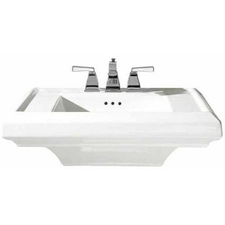 American Standard 0790.008.020 24 Town Squate Pedestal Top with Three Faucet Holes (8 Centers) without Pedestal Leg, Available in Various Colors