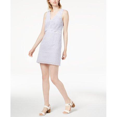 French Connection   - Schiffley Cotton Lace Sheath Dress - Regular - 4