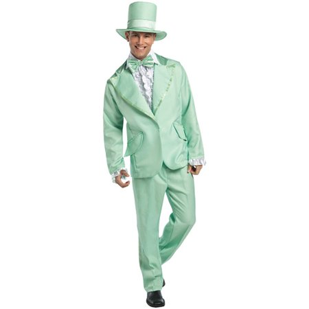 70's Funky Pastel Adult Halloween Tuxedo Costume - 70s Halloween Cartoon