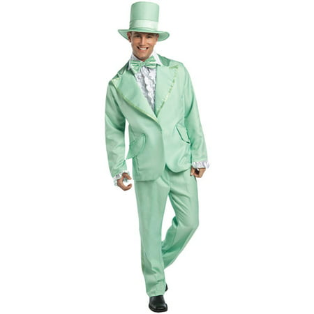 70's Funky Pastel Adult Halloween Tuxedo Costume - Halloween Costume 70's Ideas