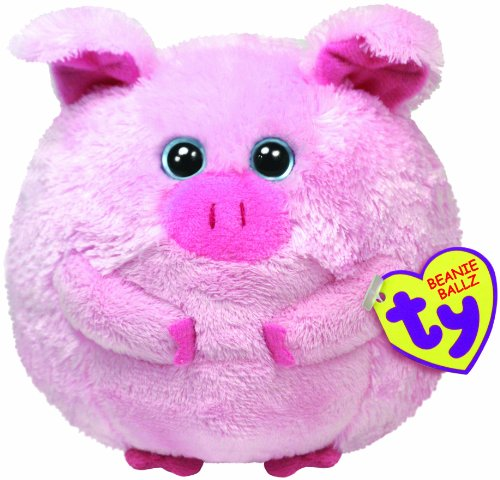 Ty Beanie Ballz Beans The Pig - image 1 of 1
