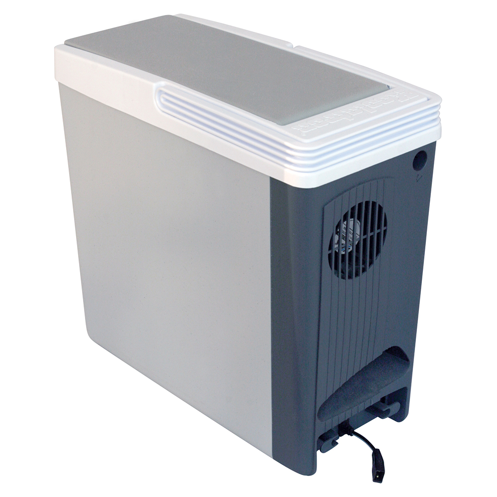 Portable 18 quart (17L) 12v Thermoelectric Travel Cooler or Warmer. Plug into your Car, Truck, Minivan or RV