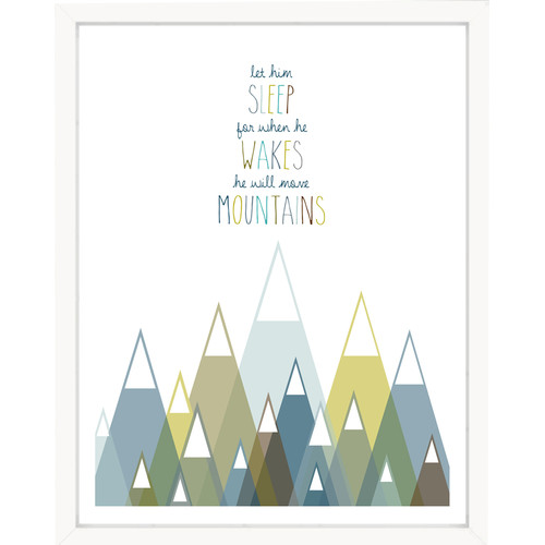 Finny and Zook 'Let Him Sleep for When He Wakes' Paper Print