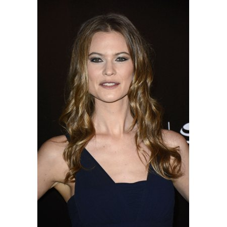 Behati Prinsloo At Arrivals For Begin Again Premiere At The 2014 Tribeca Film Festival Closing Night Gala Hosted By Chanel Rolled Canvas Art     8 X 10