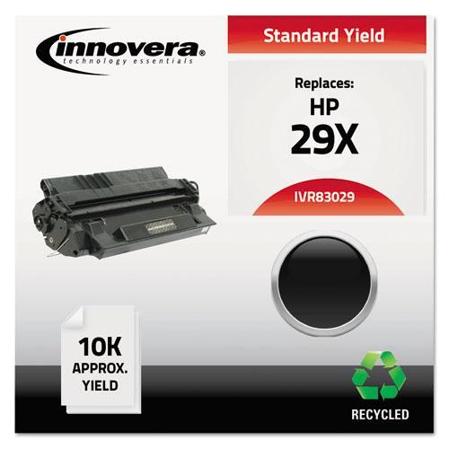 Innovera 83029 Compatible Remanufactured Toner, 10000 Page-Yield, Black