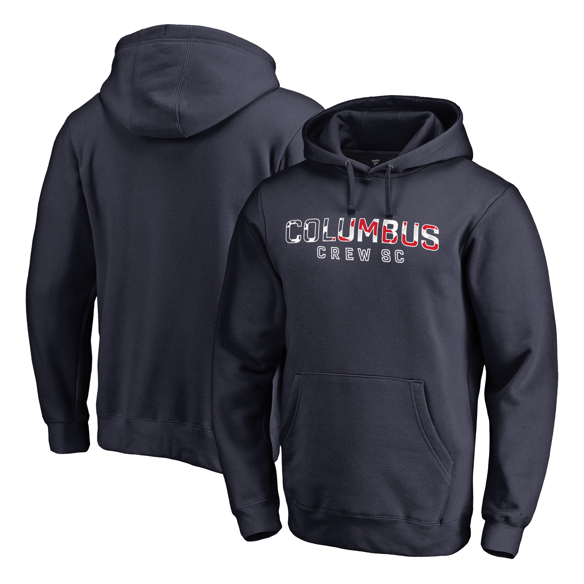 Columbus Crew SC Fanatics Branded Club and Country Pullover Hoodie - Navy