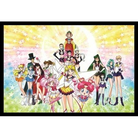 Sailor Moon Stars Poster Poster Print (Sailor Moon Halloween Fan Art)
