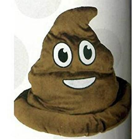 Fake Emoji Poop Hat, One emoji poop hat per order By - Fake Poo
