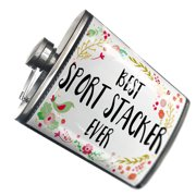 NEONBLOND Flask Happy Floral Border Sport Stacker