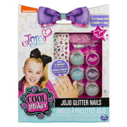 jojo siwa glitter nails glitter manicure kit with custom decals