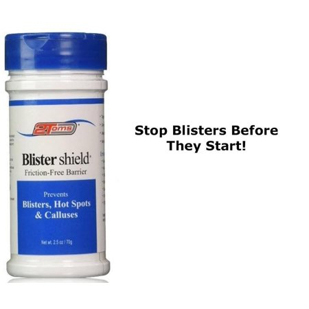 2Toms Skin Care Blister Shield 2.5oz Powder