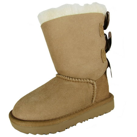 UGG Australia BAILEY BOW II Boot Toddler Kid 1017394T- Girls - Light Blue Uggs With Bows