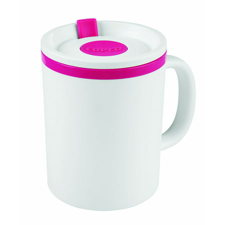 Copco Iconic Desk Mug 16 Ounce Pink 16 Ounce Jazz Design
