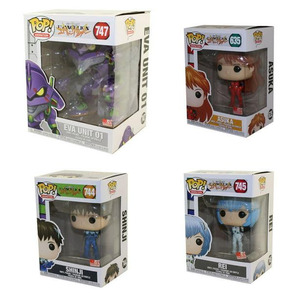 Pop Animation Evangelion Set of 4 Figures Funko