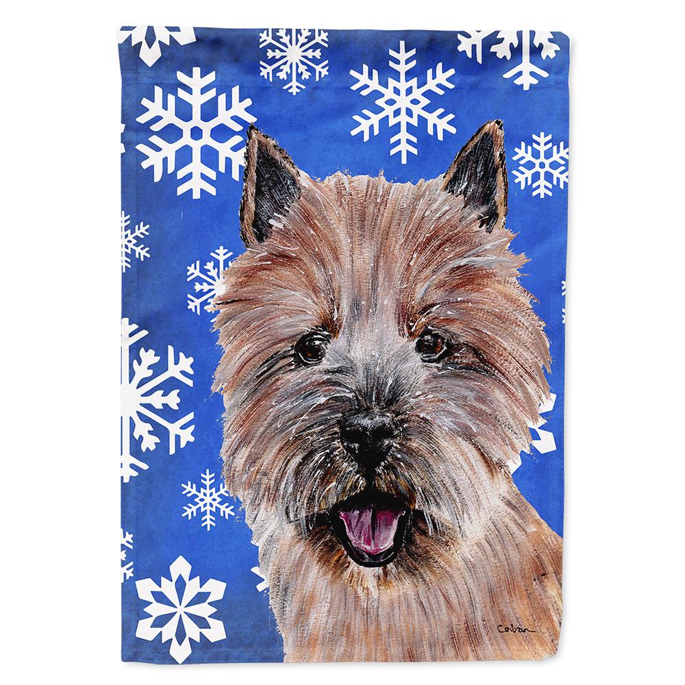 Norwich Terrier Winter Snowflakes Garden Flag Walmart Com Walmart Com