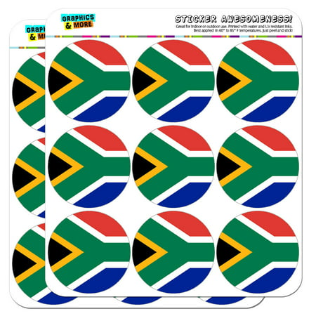 Africa Sticker (South Africa National Country Flag 2