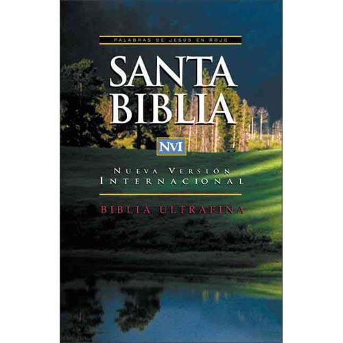 Santa Biblia Ultrafina-Nu = Ultrathin Spanish Bible-NIV