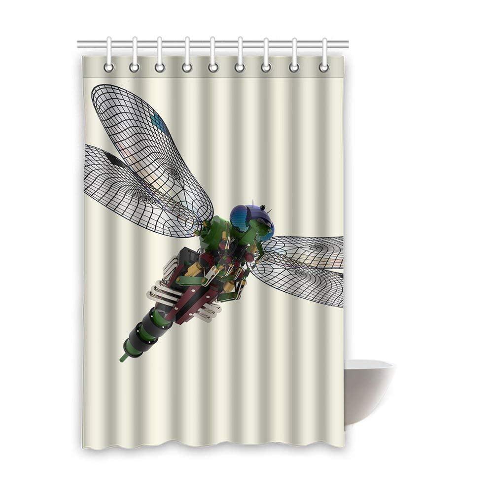 bpbop dragonfly waterproof polyester bathroom shower