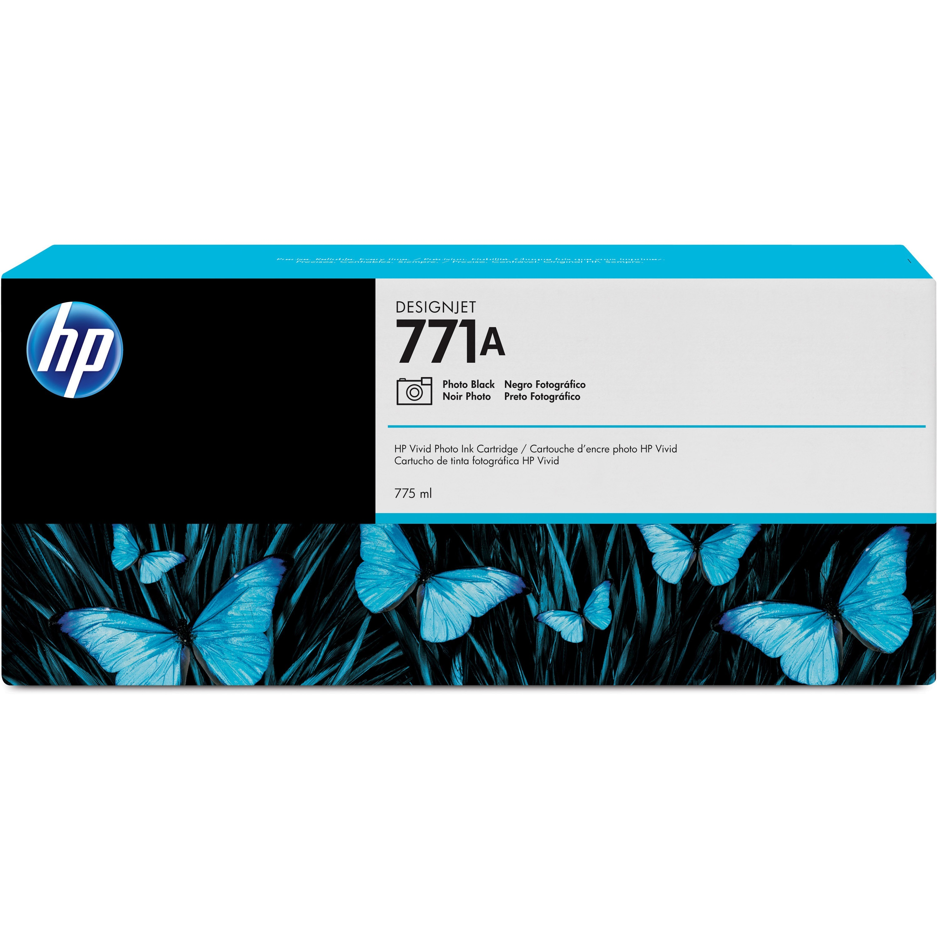 HP, HEWB6Y21A, 771 Inkjet Cartridge, 1 Each
