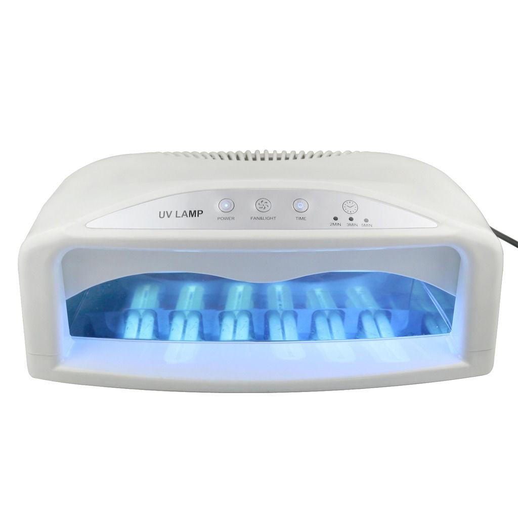 Zeny Professional UV Nail Dryer Machine 2 Hand 54W Light ...