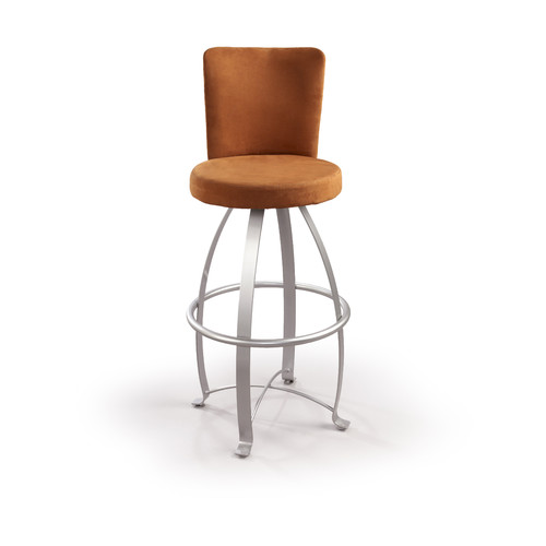 Createch Eva 24'' Swivel Bar Stool