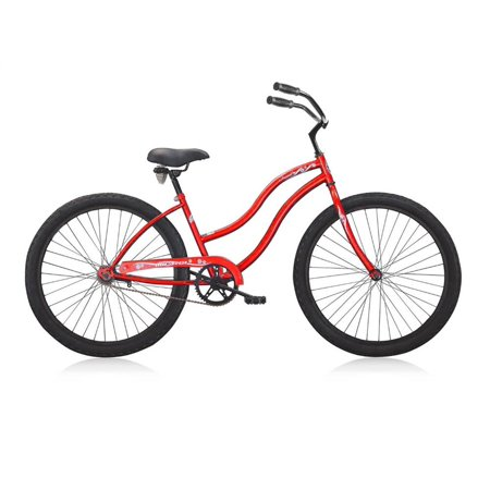 beach cruiser in red. Black Bedroom Furniture Sets. Home Design Ideas