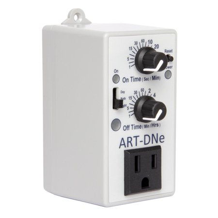 C.A.P. ART-DNE Hydroponic Day/Night Adjustable Interval Recycle Timer