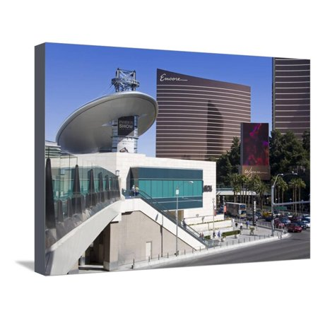 Fashion Show Mall and Encore Casino, Las Vegas, Nevada, United States of America, North America Stretched Canvas Print Wall Art By Richard (Fashion Show Las Vegas Stores)