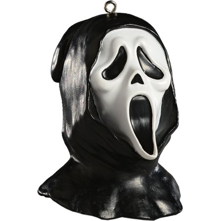 HorrorNaments Ghost Face Head Halloween Christmas Tree Ornament Decoration](Halloween Tree Decorations Homemade)
