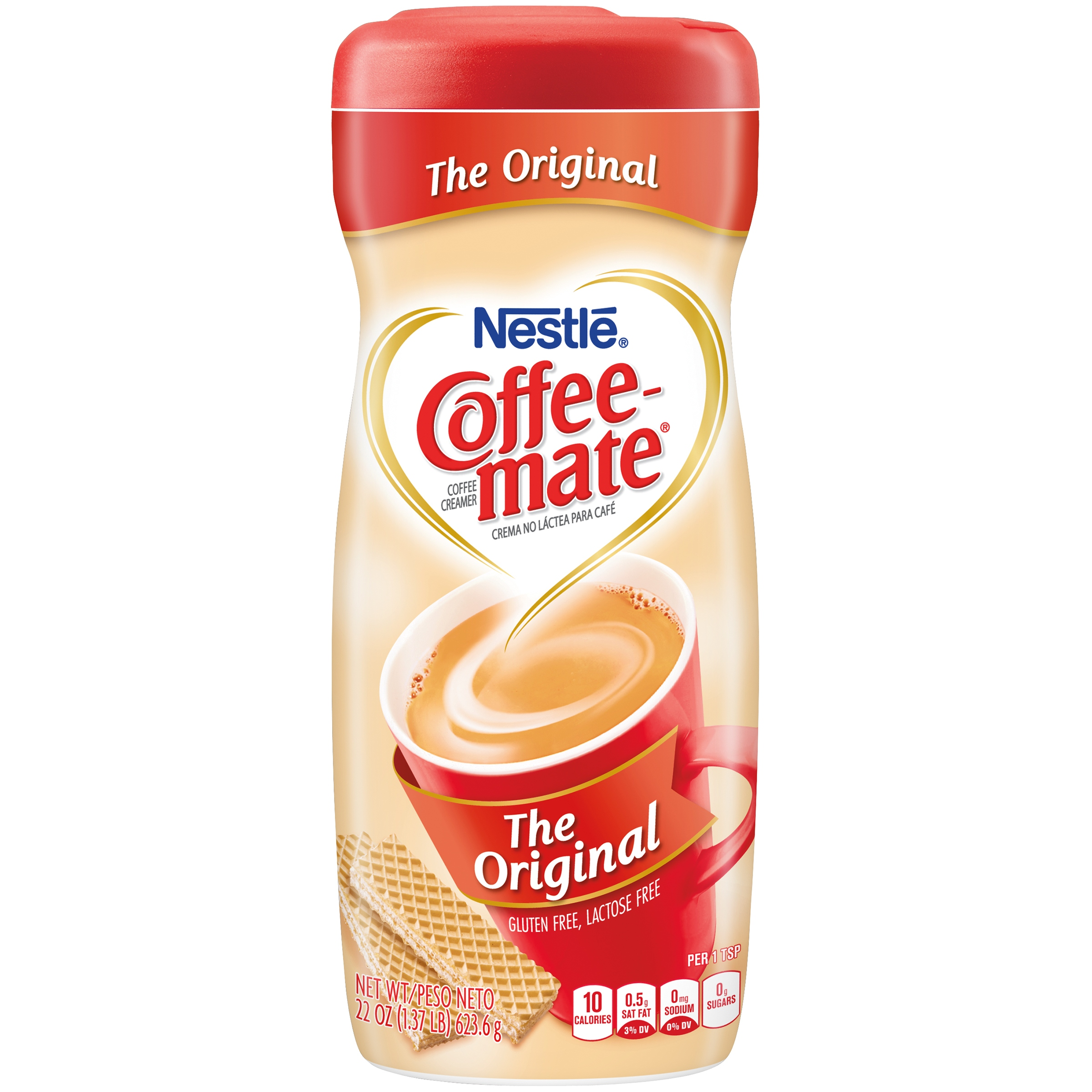Nestle Coffeemate Original Powder Coffee Creamer 22 oz. Canister