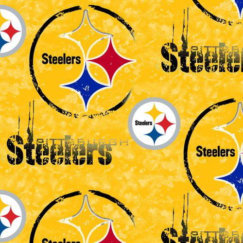 NFL Pittsburgh Steelers Fleece Fabric