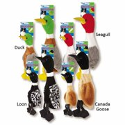 Grriggles US2001 18 14 Wild Bird Unstuffies Canada Goose Dog Squeak Toy, Large