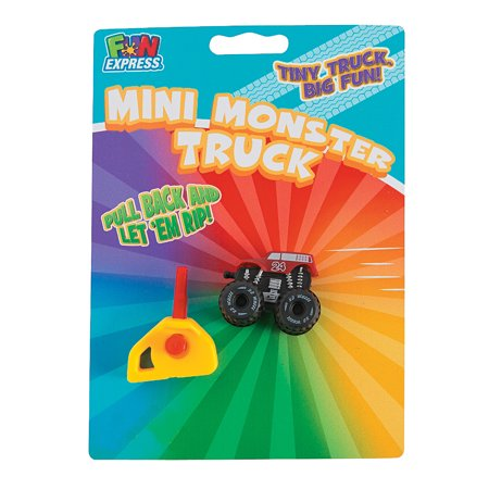 Launcher Monster Truck - Toys - Vehicles - Cars & Boats & Racers - 6 Pieces